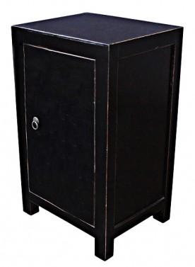 Komoda ve vintage stylu - černá komoda