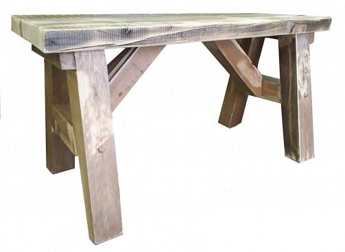 Zahradní lavice - Selský styl s patinou