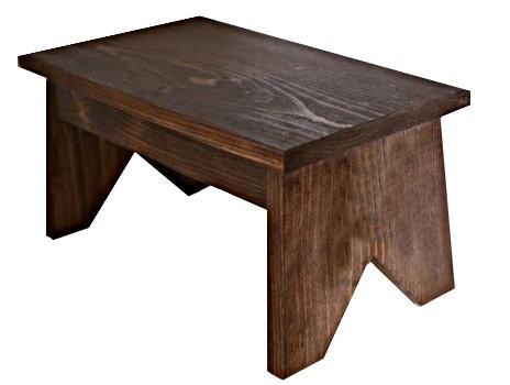 Klasická dřevěná stolička - selská stolička