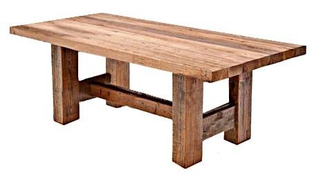 Zakázková výroba jídelních stolů ve vintage stylu a rustikálním stylu