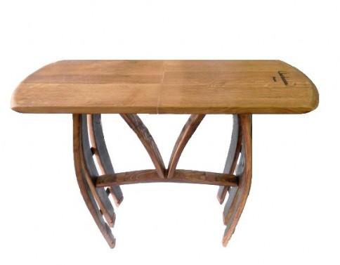 dubové masivní servírovací stolky