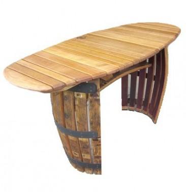 Zahradní stolek z dubu