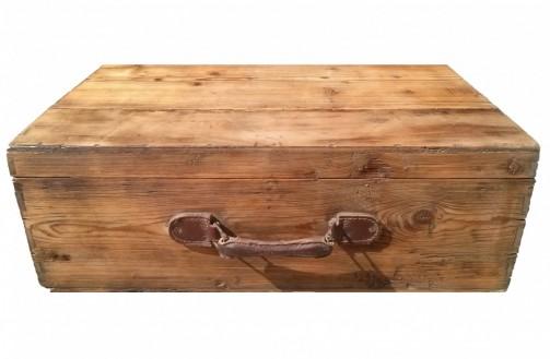 Dřevěné kufry