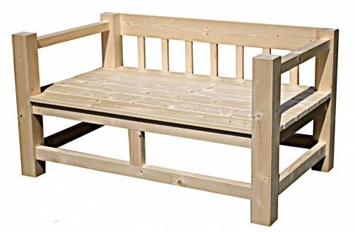 Zahradní i vnitřní lavice v provence stylu - zakázková výroba lavic