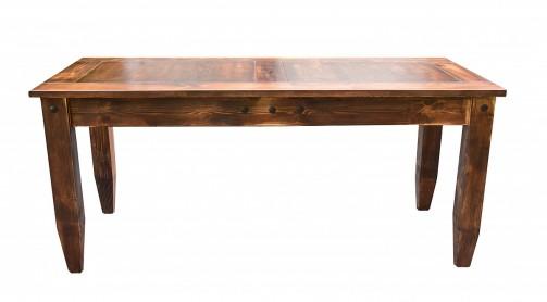 Kuchyňské jídelní stoly v selském a rustikálním stylu