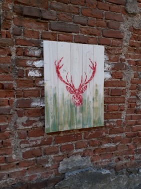 Vintage obrazy na stěnu