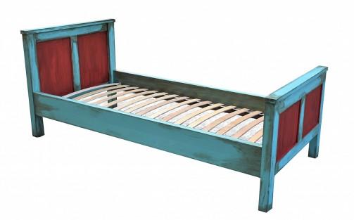 Malovaná postel