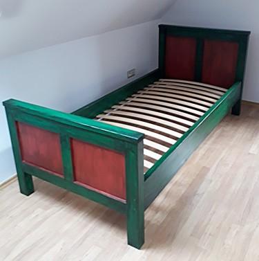 Barevné postele na míru