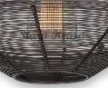 Ručně pletené vintage svítidlo - Koule - Detail