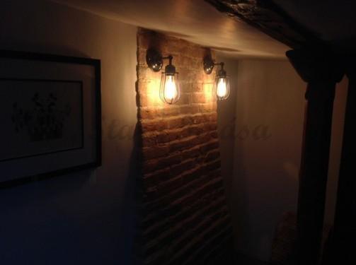 Boston vintage nástěnné svítidlo - inspirace