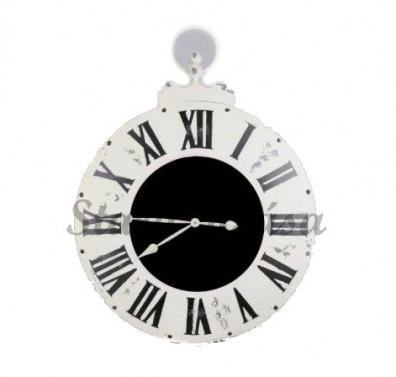 Velké Antique hodiny s opotřebovaným vzhledem. č.1