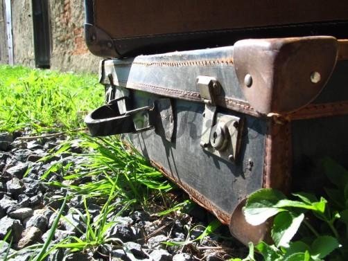 Starý dekorační kufřík