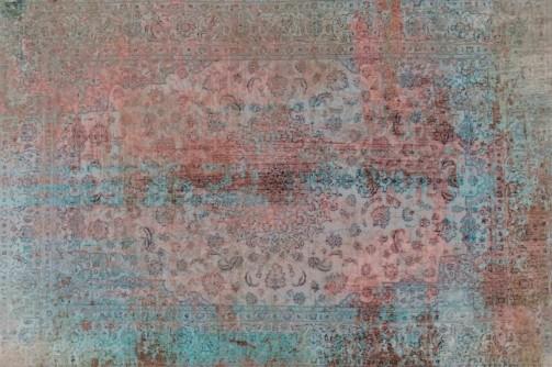 Vinylový koberec s antik dekorem