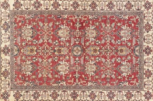 Vinylový koberec - vzhled starého tkaného koberce